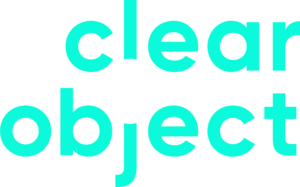 clear object logo